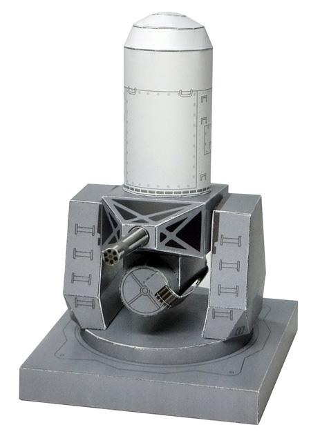 Paper model del Phalanx CIWS.